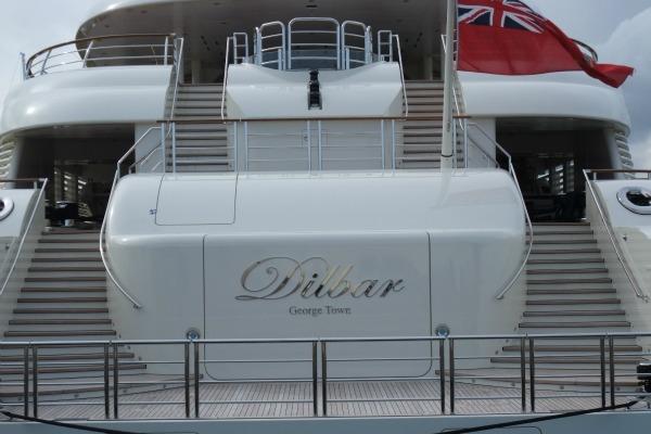Dilbar - najveća superjahta sveta
