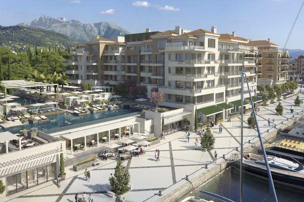 Nova faza radova u luksuznom Porto Montenegru
