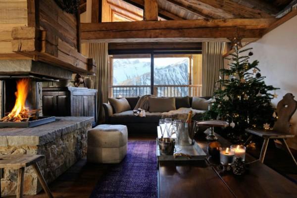 Luksuzna toplina alpske lože