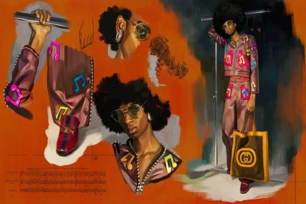 Utopijska fantazija –Gucci kampanja proleće 2018