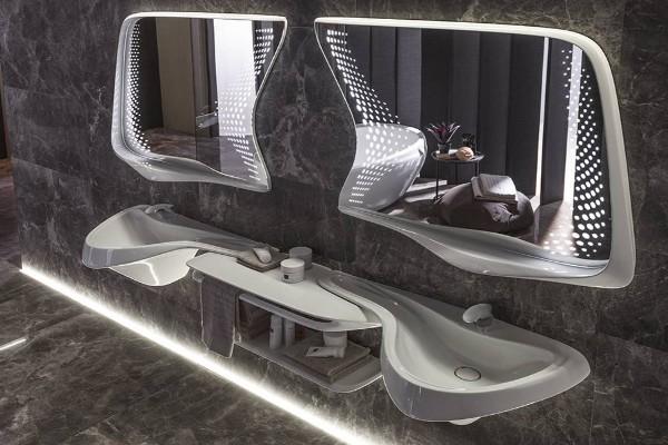 Opremite vaše kupatilo u stilu Zahe Hadid