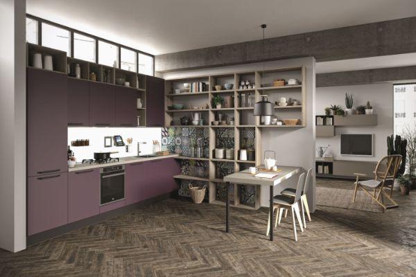 Dnevni boravak i kuhinja u jednom prostoru