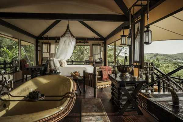 Očaravajuća lepota Four Seasons Tented Camp Golden Triangle na Tajlandu