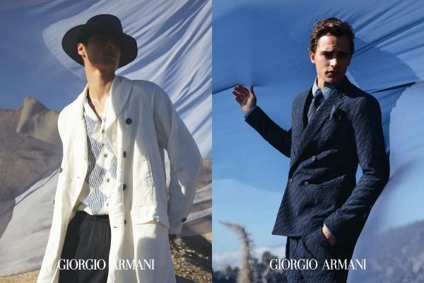 Veza čoveka u prirode u novoj Giorgio Armani kampanji