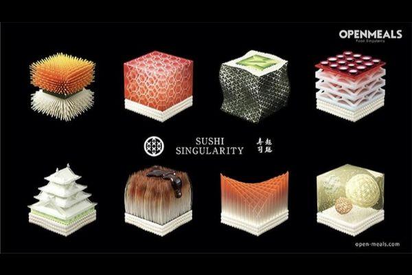 Tokijski restoran nudi 3D štampani suši u skladu sa vašim DNK