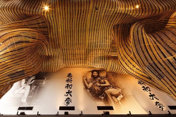 Zavirite u impresivni enterijer restorana u Bangkoku