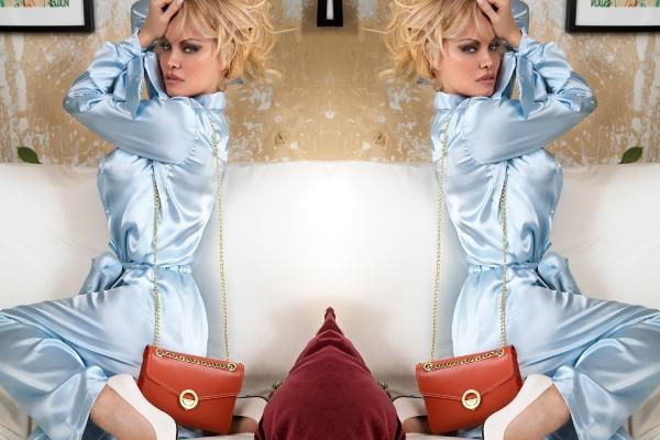 Pamela Anderson u novoj modnoj kampanji
