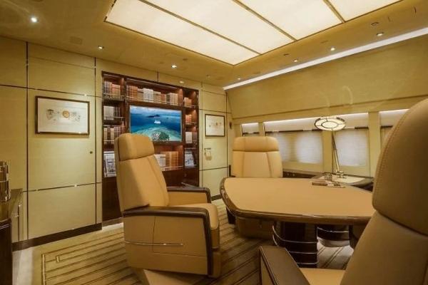 Kako izgleda privatni avion biznismena sa Bliskog istoka