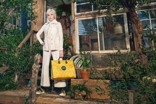 Gucci lansira novu kampanju sa Džejn Fondom