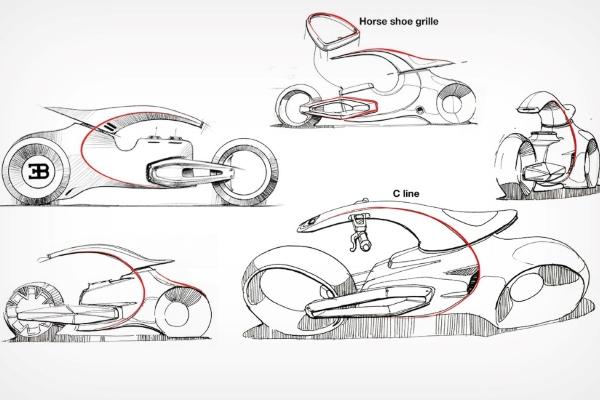 Jedinstveni koncept Bugatti motora