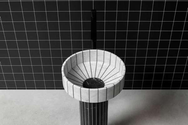 Lepota kontrasta u novom antoniolupi umivaoniku