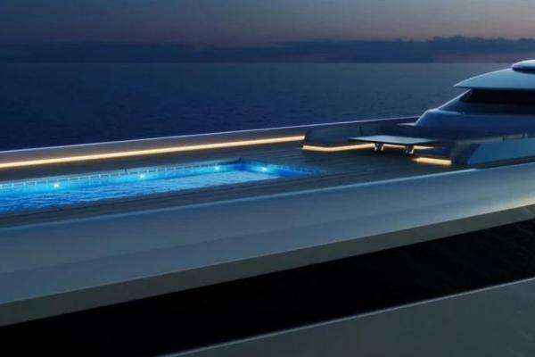Veličanstvena jahta inspirisana Jaguar E-Type automobilom