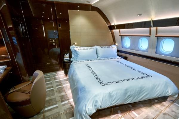 Zavirite u najdekadentniji privatni avion na svetu