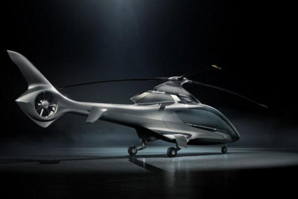 Helikopter koji pomera granice luksuza
