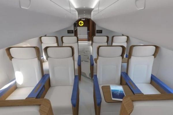 Zavirite u supersonični privatni avion Džoa Bajdena