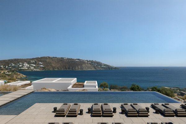 Novi hotel na Mikonosu jedinstveno kombinuje kamen sa beskrajnim plavetnilom