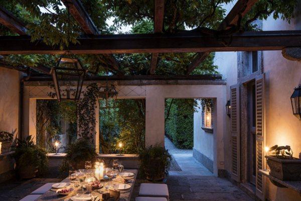 Vila Balbiano: Pogled na impozantnu vilu Gucci na jezeru Komo
