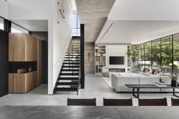 Ultra moderan dom u Tel Avivu ističe se zadivljujućim pejzažem na otvorenom