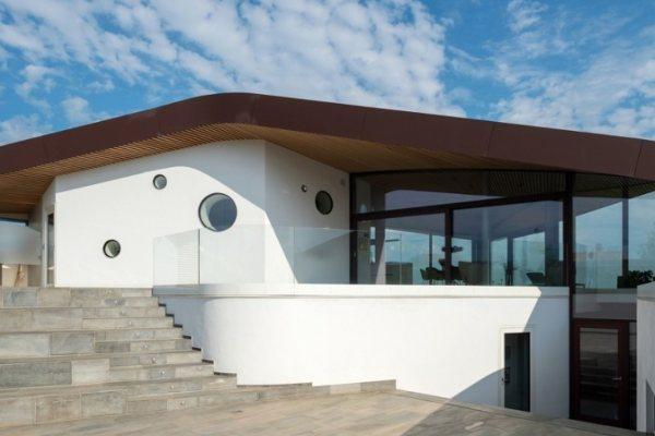 Futuristička kuća u Danskoj izgleda kao da je došla iz budućnosti