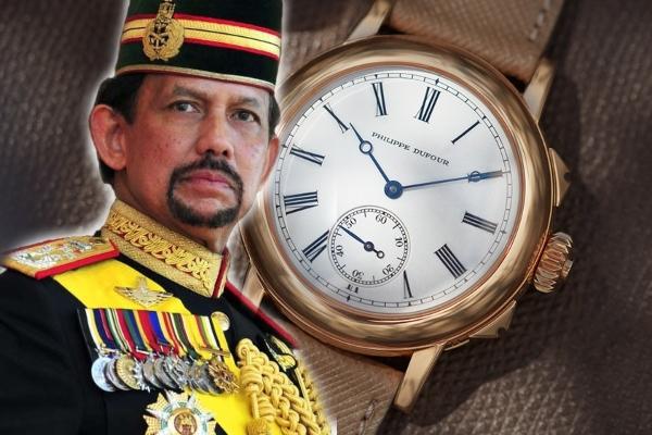 Retki časovnik napravljen za sultana od Bruneja oborio svetski rekord