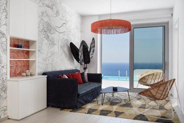 Kouros Hotel & Suites sija kao svetionik u srcu Mikonosa
