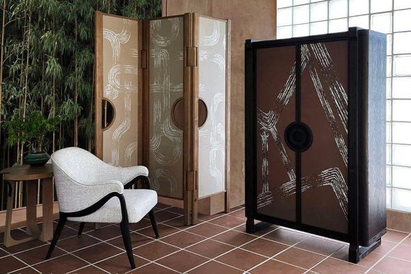 Art Deco kolekcija nameštaja inspirisana spokojem japanskih Zen vrtova