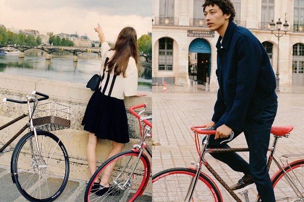 Istražite gradske ulice u stilu sa biciklom Louis Vuitton