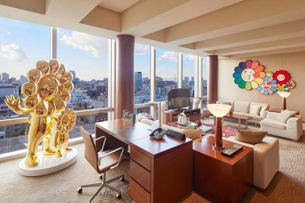 Poput zemlje čuda: Takaši Murakami apartman u Grand Hyatt Tokio hotelu