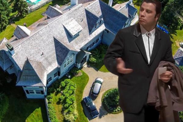 Džon Travolta prodaje svoju vikendicu