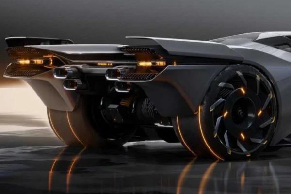 Dopao bi se i Kijanu Rivsu: Ferrari inspirisan igrom Cyberpunk 2077