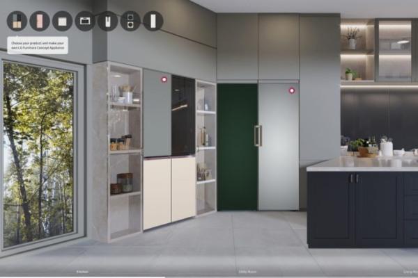 LG noviteti za stilske kuhinje