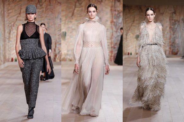 Praktična moda: bajkovite haljine i puno tvida u Dior kolekciji