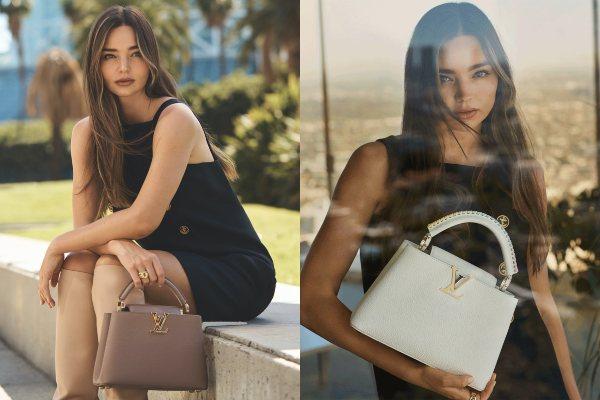 Miranda Kerr u novoj kampanji Louis Vuitton Capucines 2021