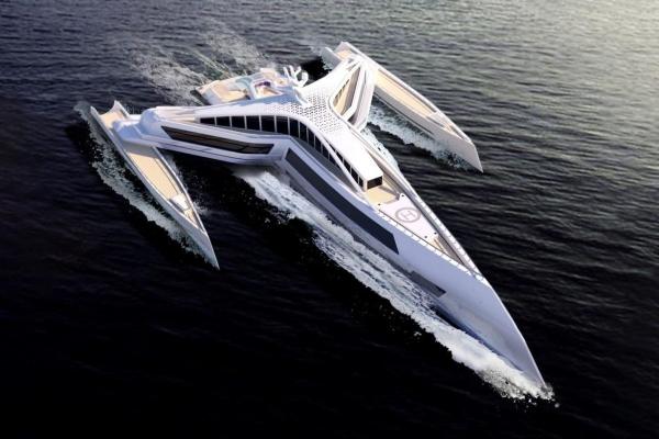 Inovativni koncept luksuzne jahte kao stvoren za milijardere