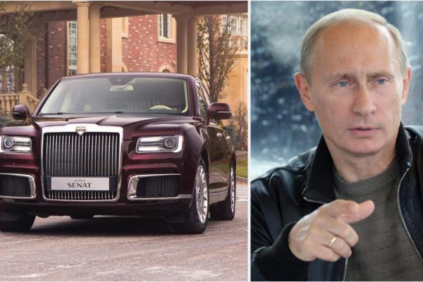 Kako izgleda nova Putinova limuzina