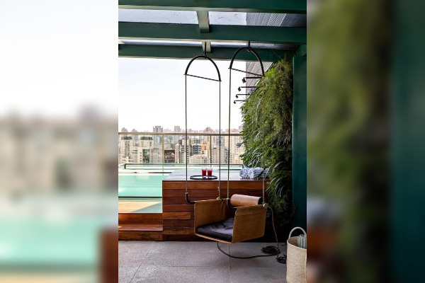 Neverovatni penthaus sa bazenom umesto krova