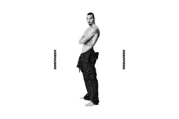 Zlatan Ibrahimović u centru pažnje nove Dsquared2 kampanje