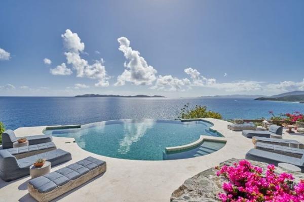 Novo ekskluzivno odmaralište na Karibima - Aerial BVI