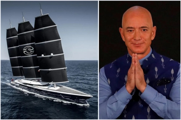 Kako izgleda jahta najbogatijeg čoveka sveta vredna pola milijarde dolara