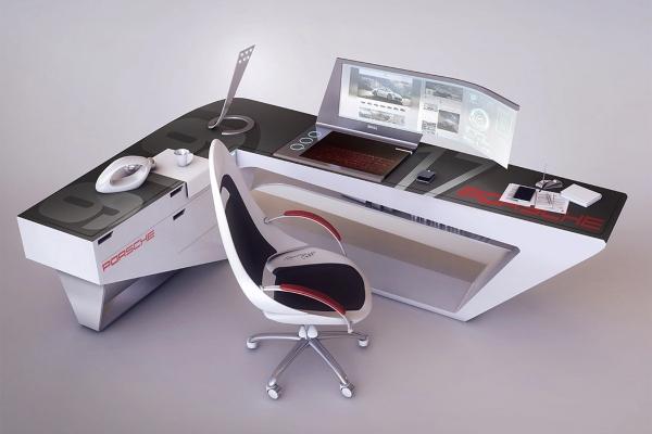 Porsche radni sto sa lepotom futurističkog stila