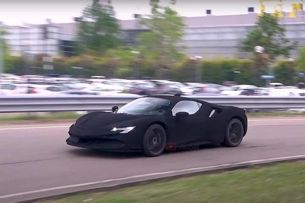 Jutjuber uhvatio NAJCRNJI Ferrari