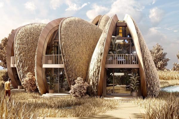 Neobični dizajn porodične kuće u Ukrajini