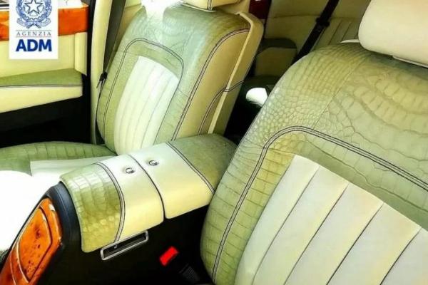 Italijanska carina zaplenila unikatni Rolls Royce