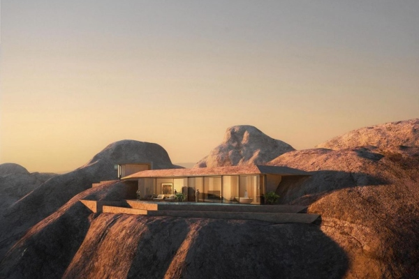 Daleko od svetlosti i buke modernog sveta - luksuzno planinsko odmaralište u Saudijskoj Arabiji