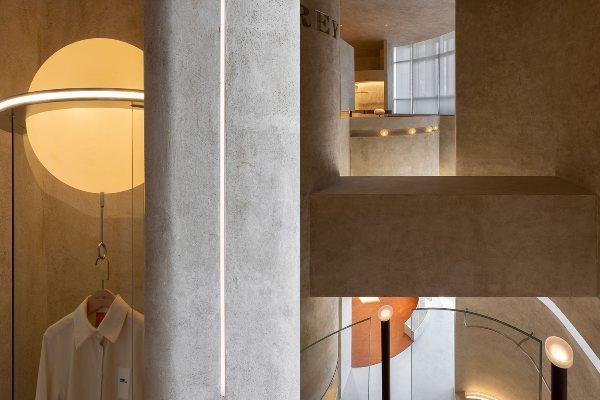 Liang Architecture: butik posvećen Odri Hepbern