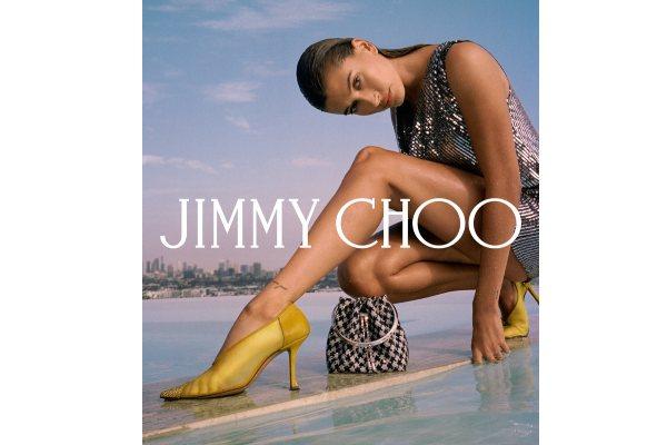 Hejli Biber u novoj kampanji Jimmy Choo za jesen/zimu 2021