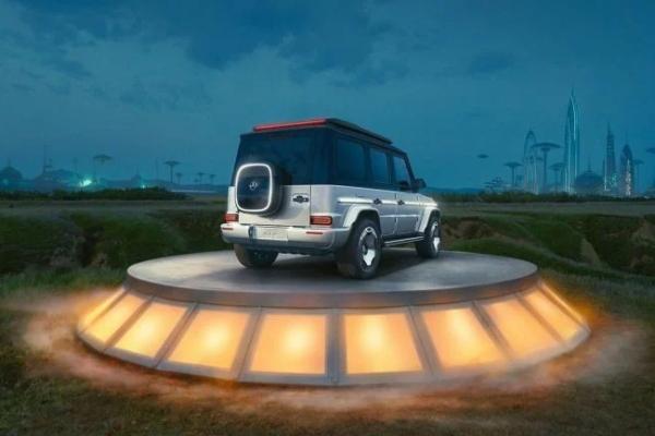 Verovali ili ne - Mercedes predstavlja električni G-Wagen