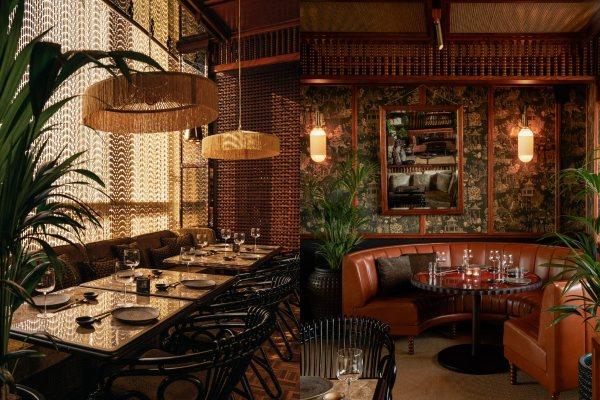 Restoran sa nostalgičnim enterijerom u Dubaiju