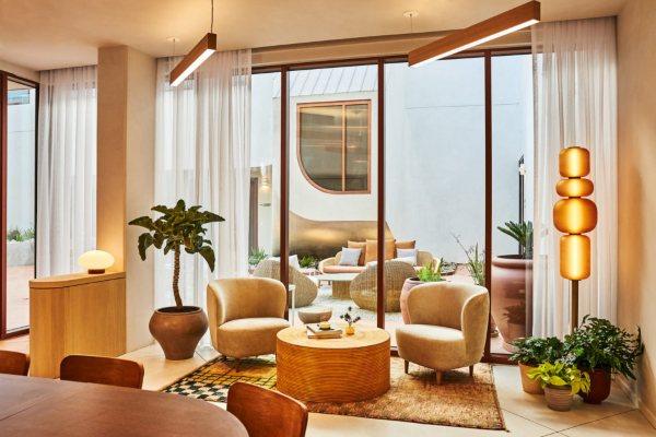 Hotel sa mediteranskim štihom u Los Anđelesu