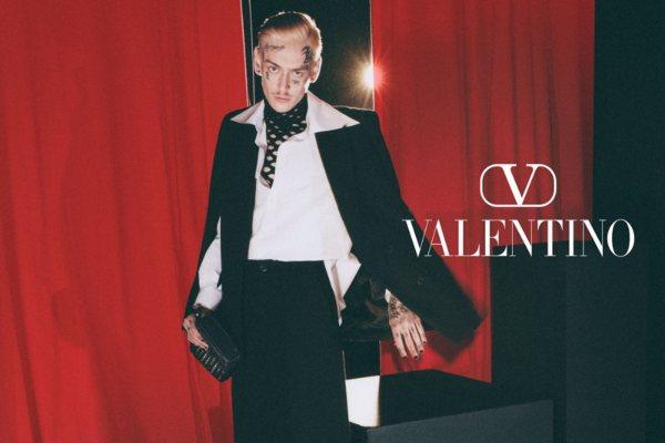 Tedi Korsika je lice nove Valentino jesenje kampanje